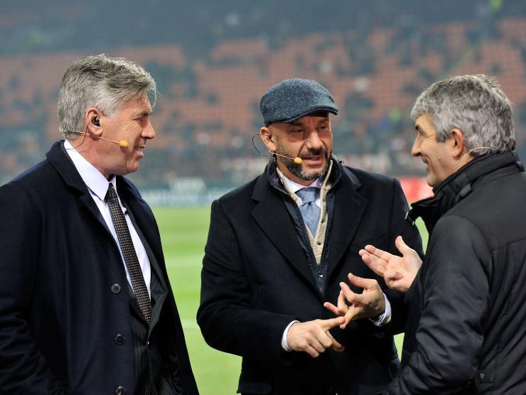 Ancelotti-Vialli-Rossi Getty Images