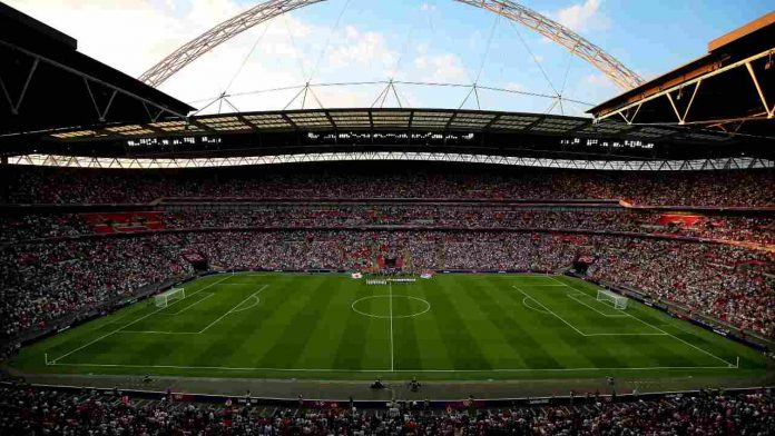 Lo stadio Wembley - Getty Images