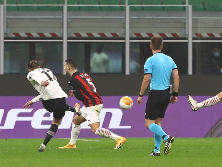 Yazici gol Milan - Getty Images