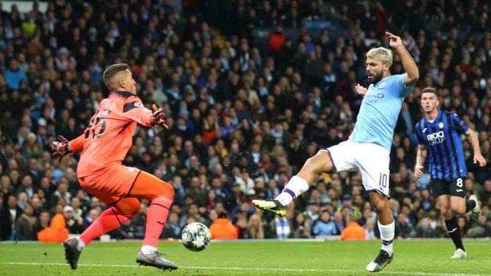 Aguero vs Atalanta - Getty Images