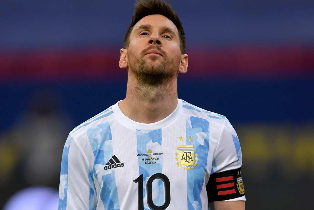 messi brasile argentina