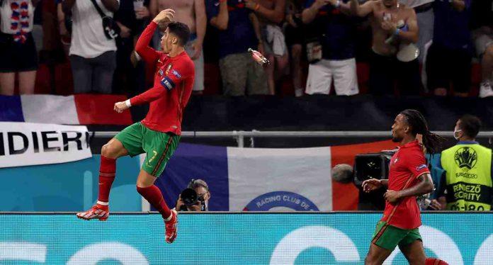 Portogallo Francia Ronaldo Coca Cola