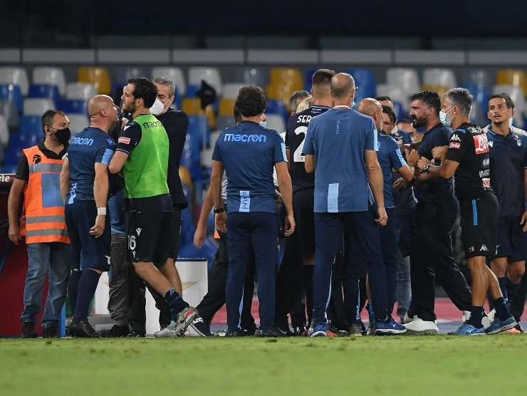 Staff Napoli e Lazio - Getty Images
