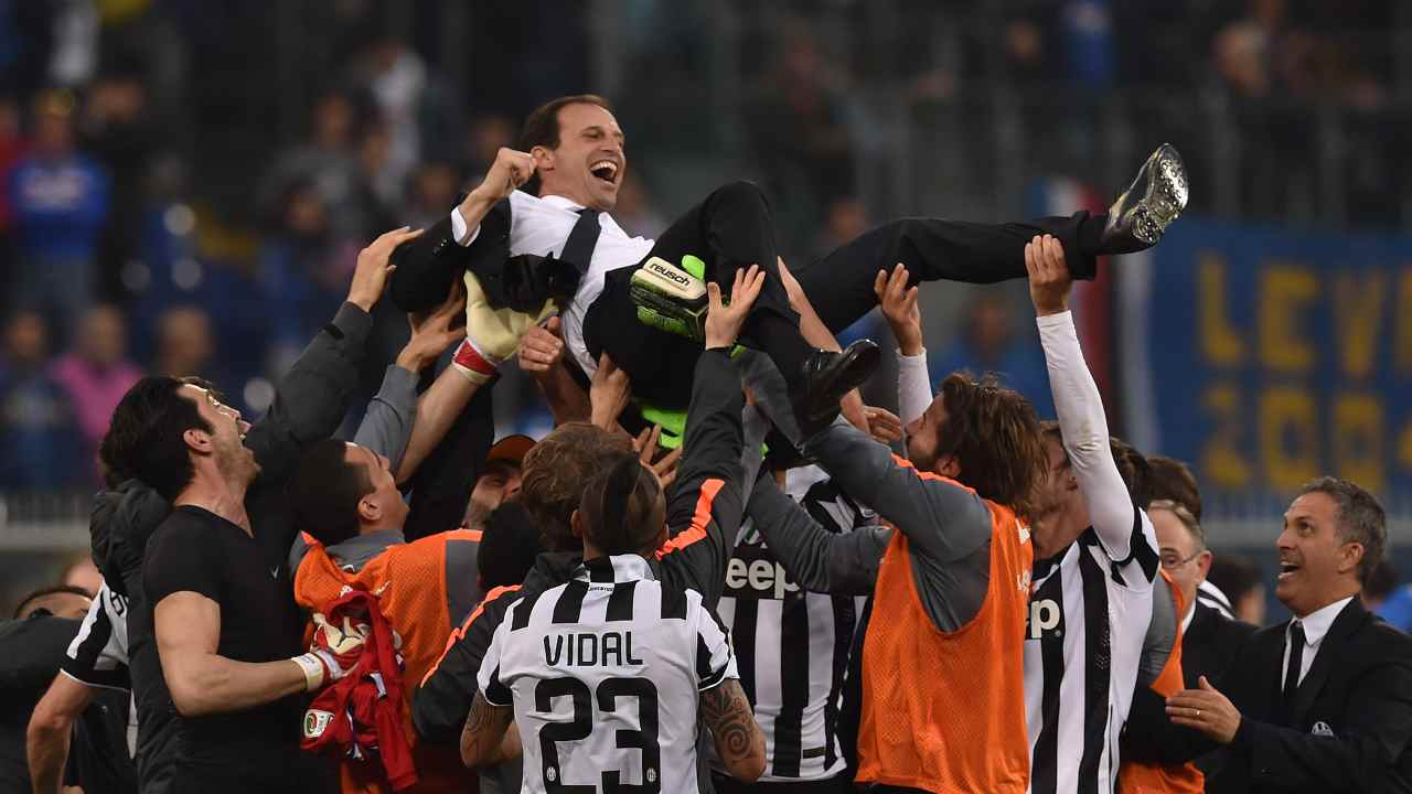 Allegri in trionfo - Getty Images