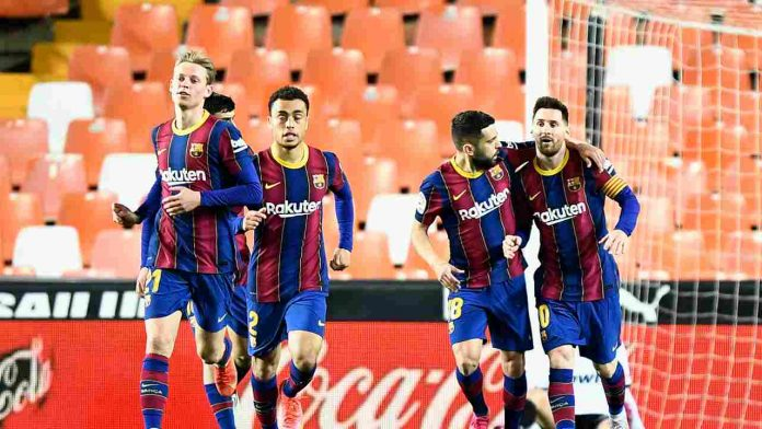 Barcellona Messi Jordi Alba