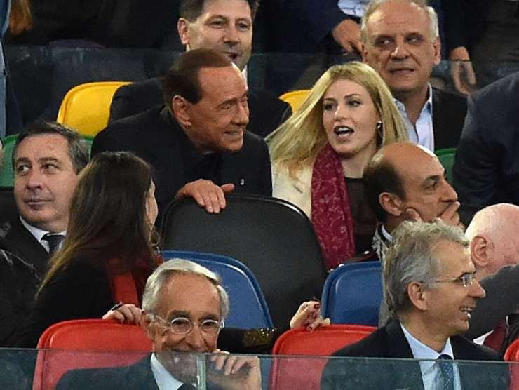 Berlusconi e la figlia - Getty Images