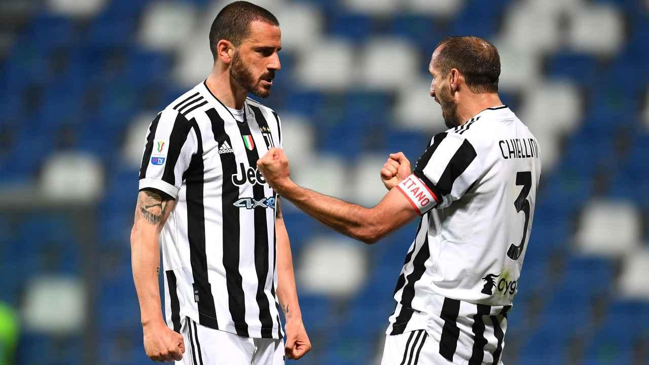Bonucci e Chiellini - Getty Images