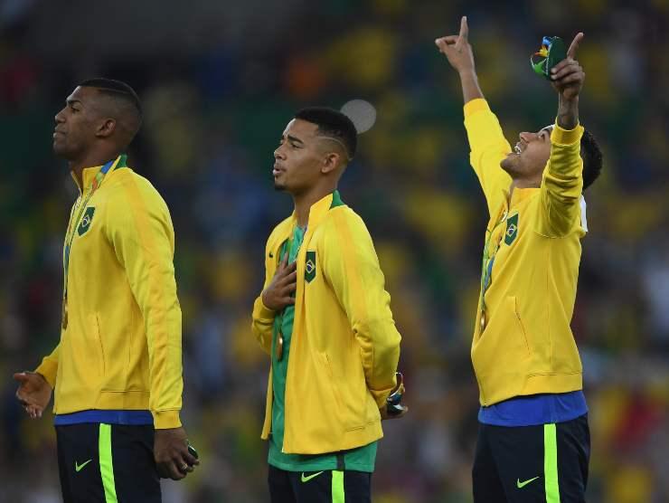 Brasile Oro alle Olimpiadi Rio