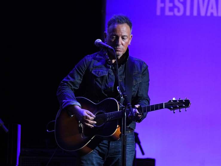 Bruce Springsteen chitarra