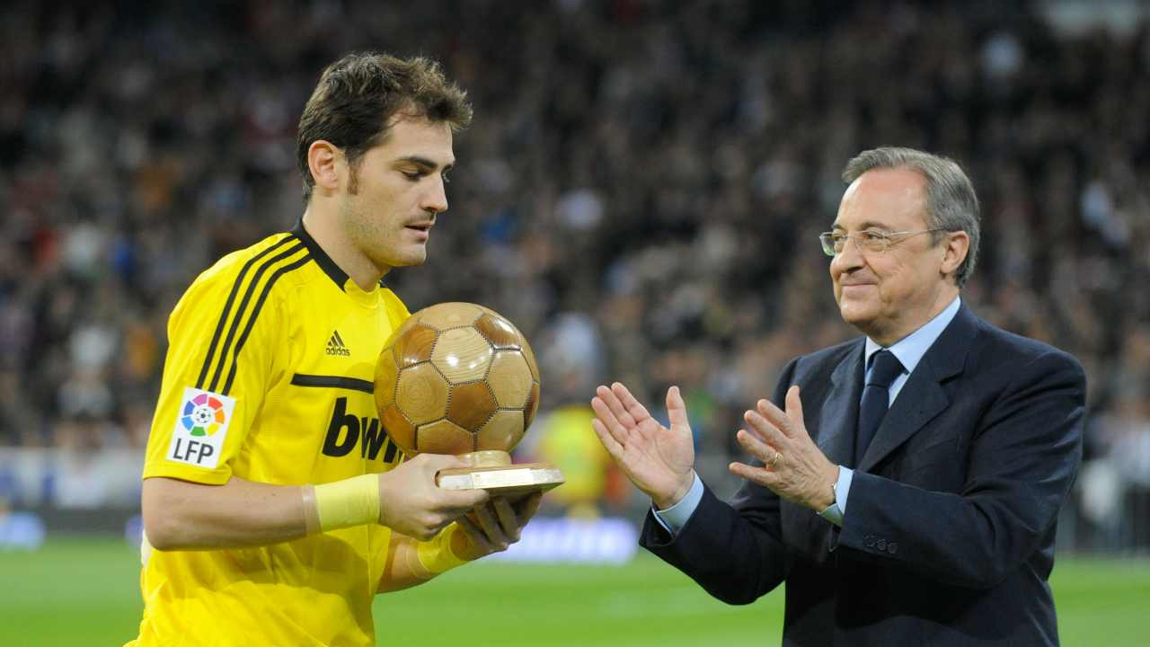 Casillas e Florentino Perez
