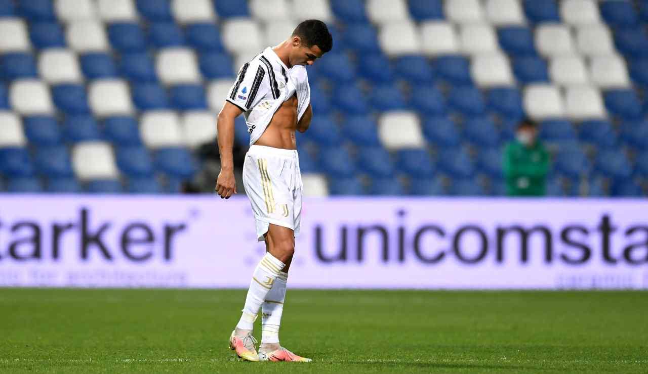 Cristiano Ronaldo lascia Juventus