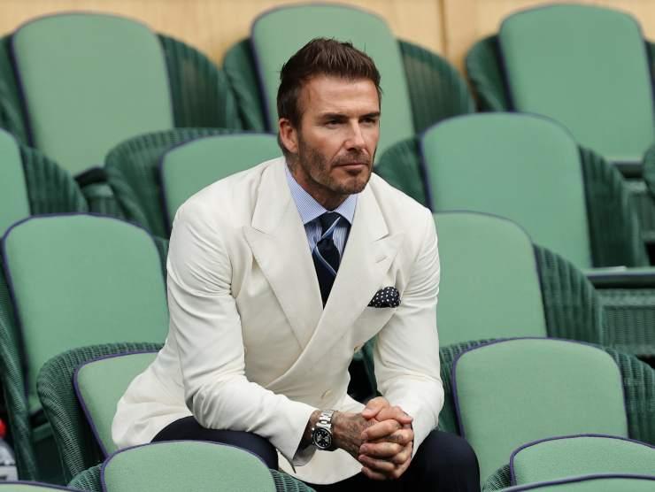 David Beckham Wimbledon