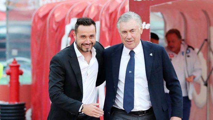 De Zerbi e Ancelotti - Getty Images