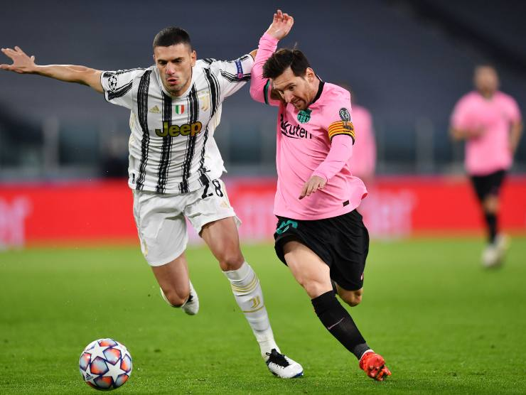 Demiral vs Messi - Getty Images