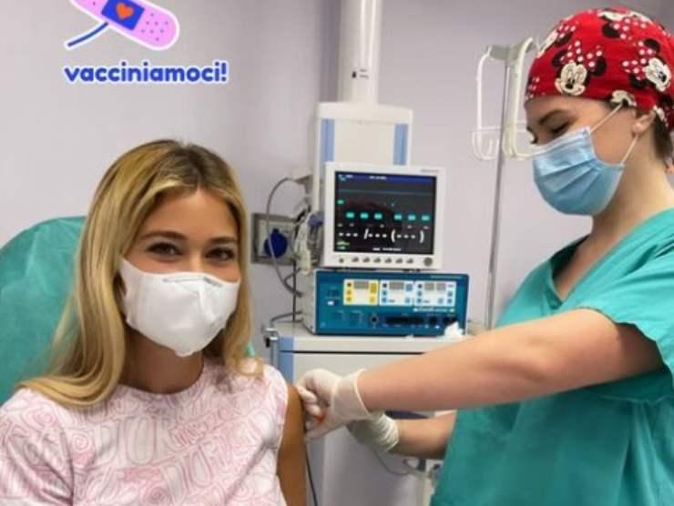 Diletta Leotta vaccino