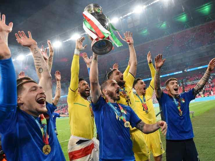 Euro 2020 Italia Donnarumma Bonucci