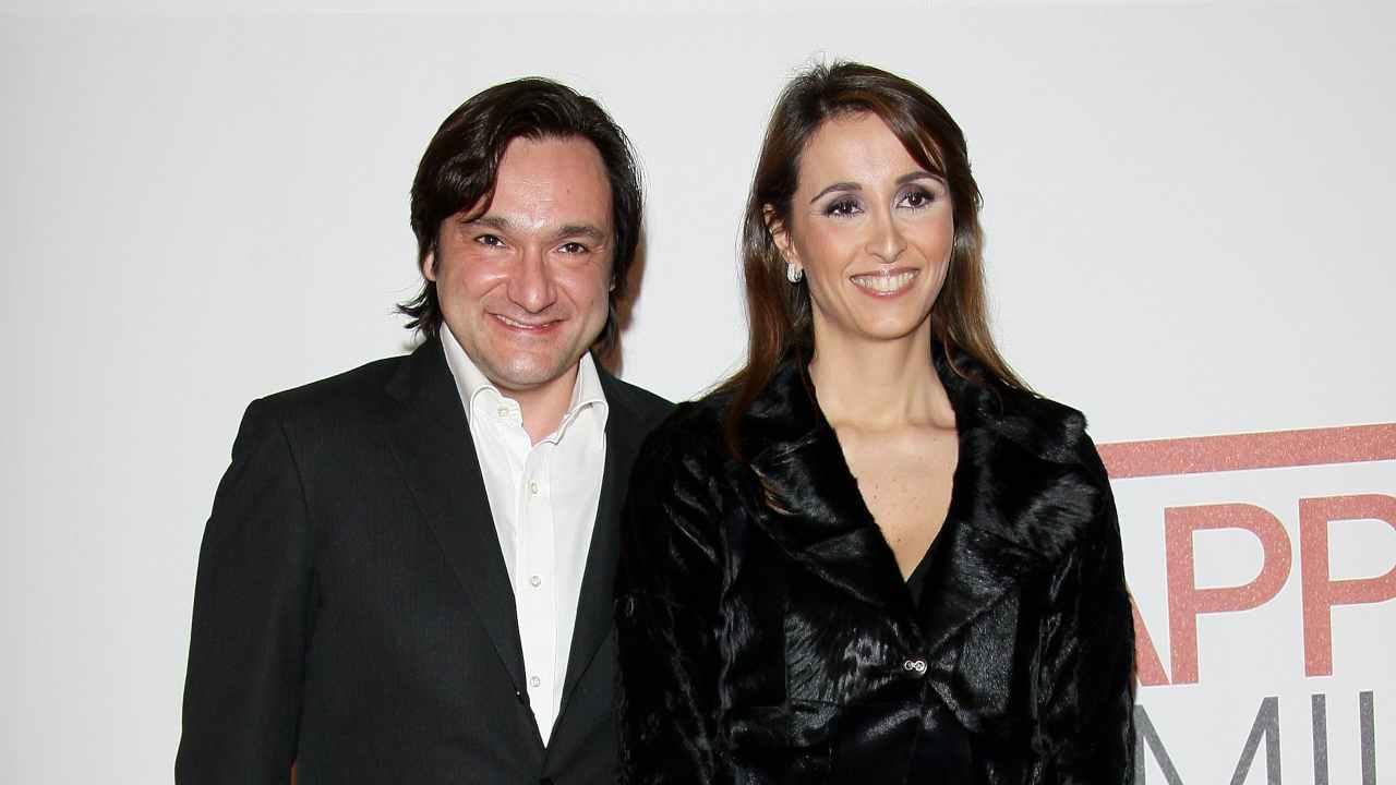 Fabio Caressa e la moglie Benedetta Parodi