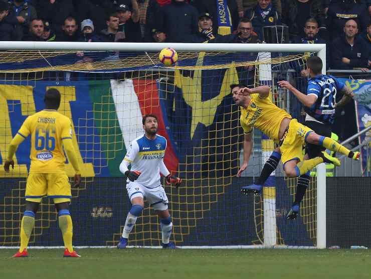 Frosinone-Atalanta Getty Images