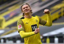 Haaland Borussia record