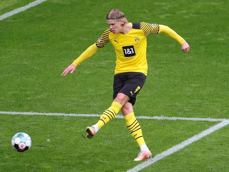 Haaland gol Borussia