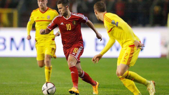 Hazard col Belgio - Getty Images