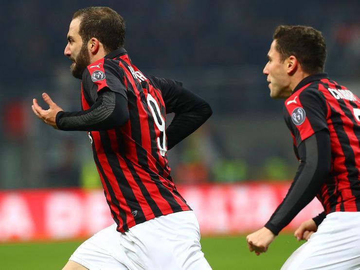 Higuain al Milan - Getty Images