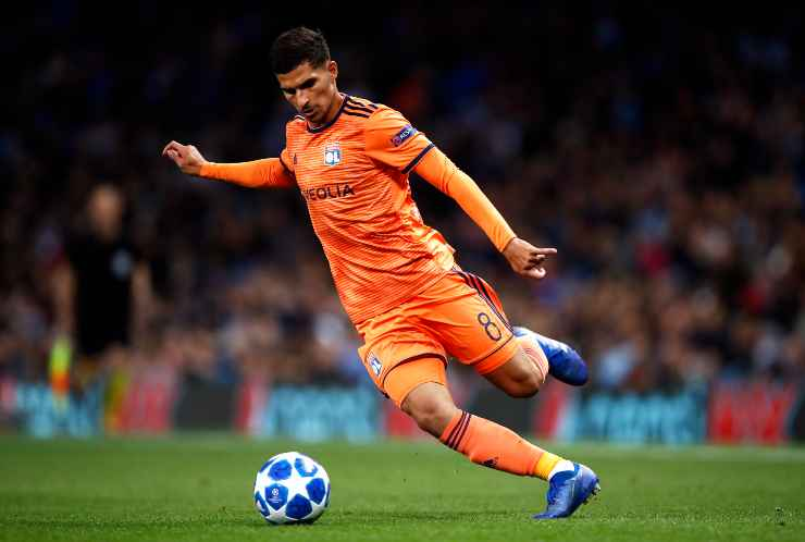 Houssem Aouar in campo