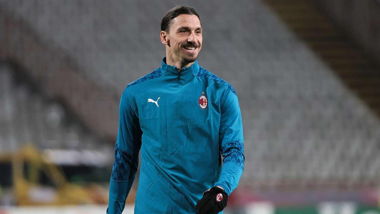 Ibrahimovic Milan sorriso