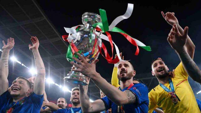 Italia festeggia Euro 2020