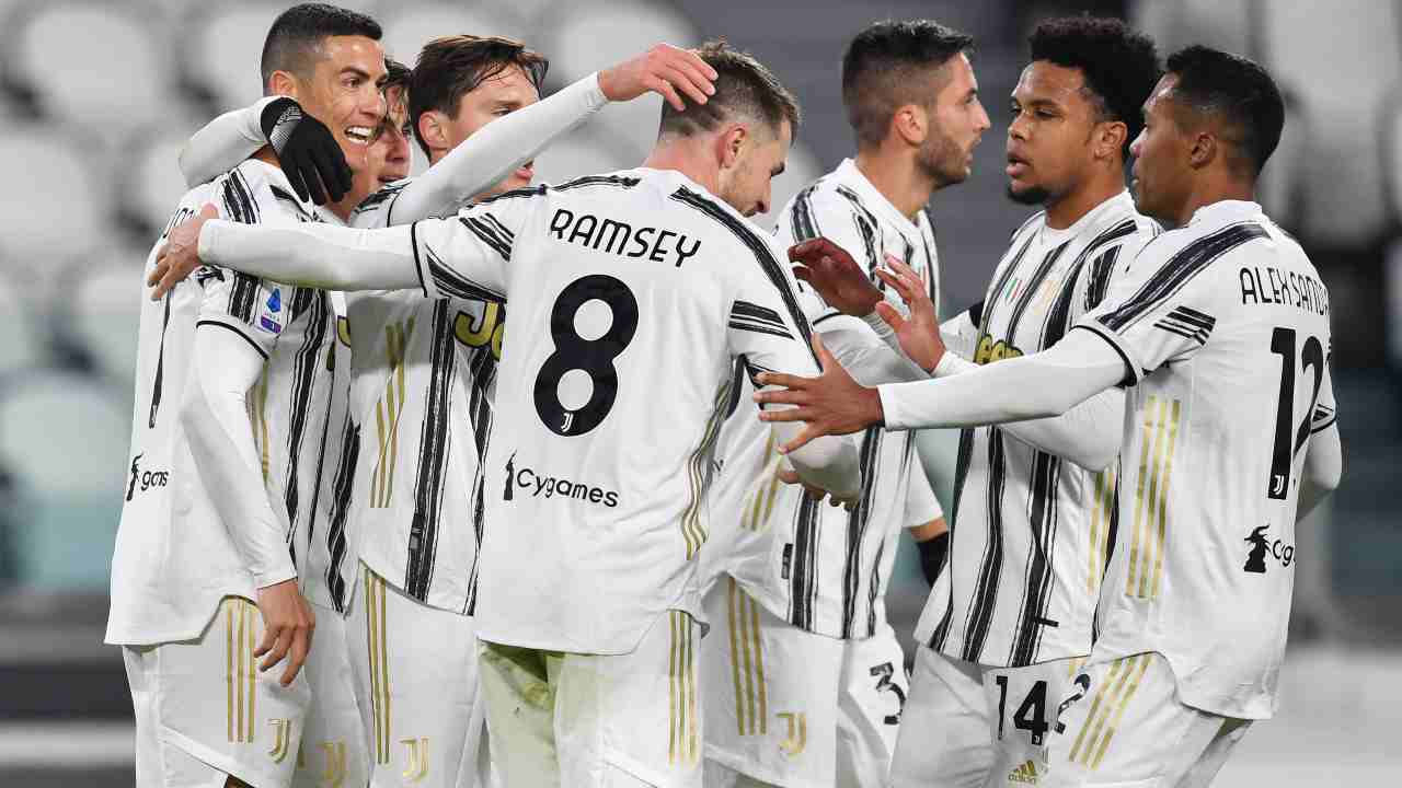 Juventus in gruppo - Getty Images