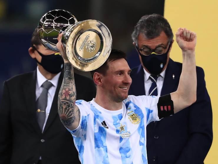 Leo Messi Copa America Argentina