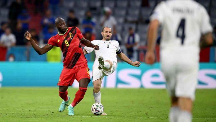Lukaku Chiellini Belgio Italia