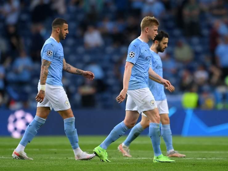 Manchester City maglia celeste