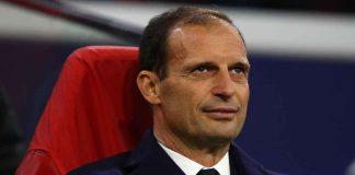 Calciomercato Juventus, Massimiliano Allegri in primo piano