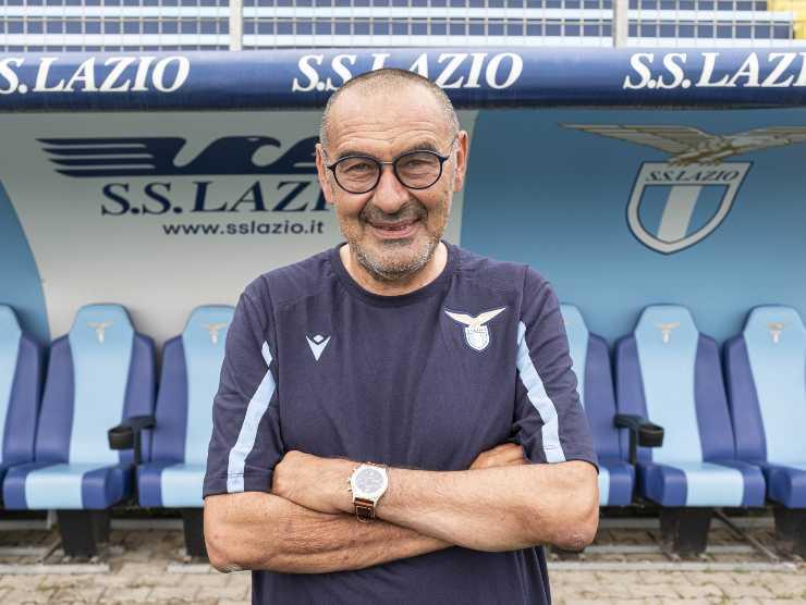 Maurizio Sarri allenatore Lazio