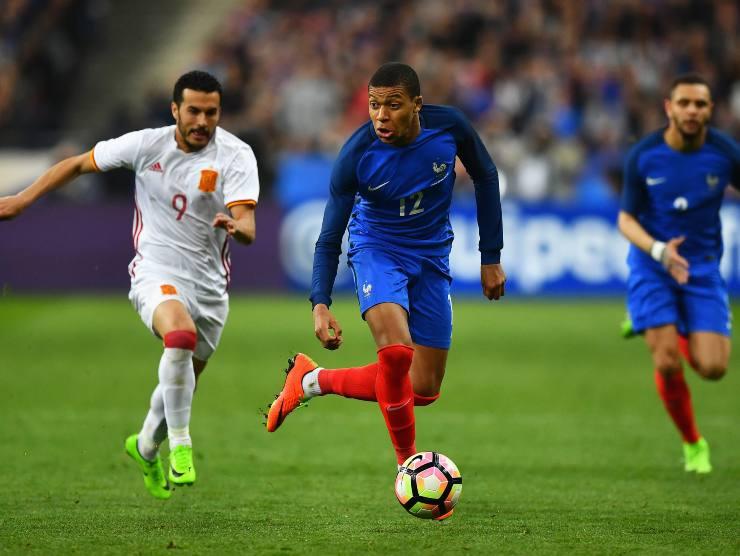 Mbappè con la Francia - Getty Images