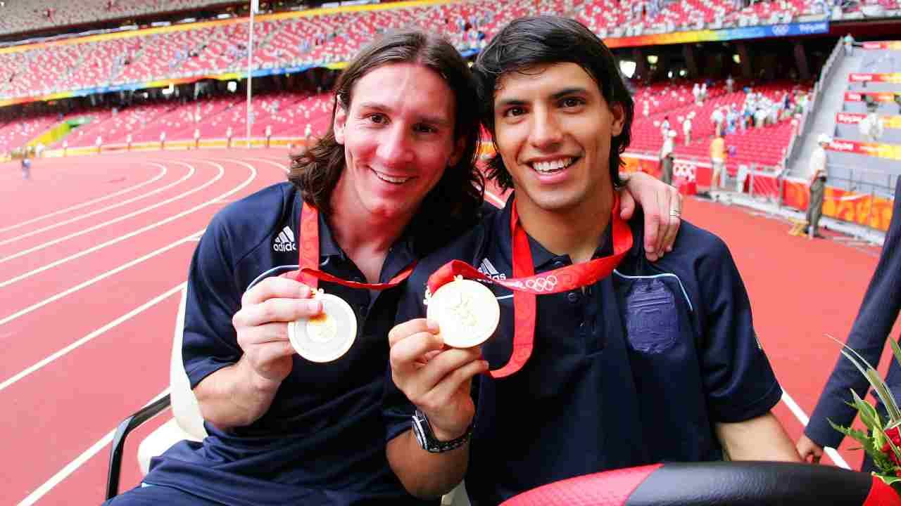 Messi con oro - Getty Images