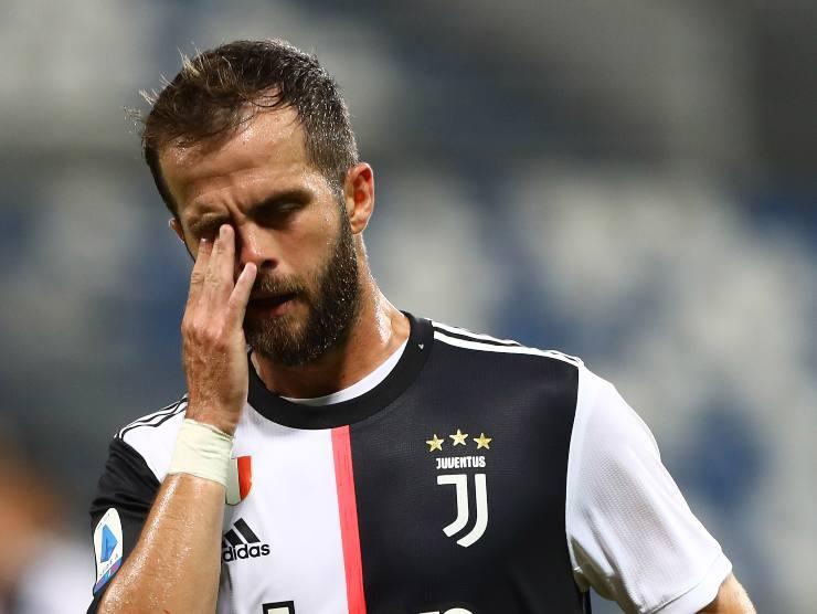 Miralem Pjanic con la maglia della Juventus