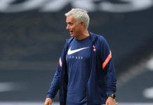 Mourinho allenamento Tottenham