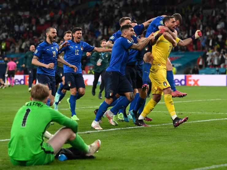 Nazionale campione d'Europa 2021