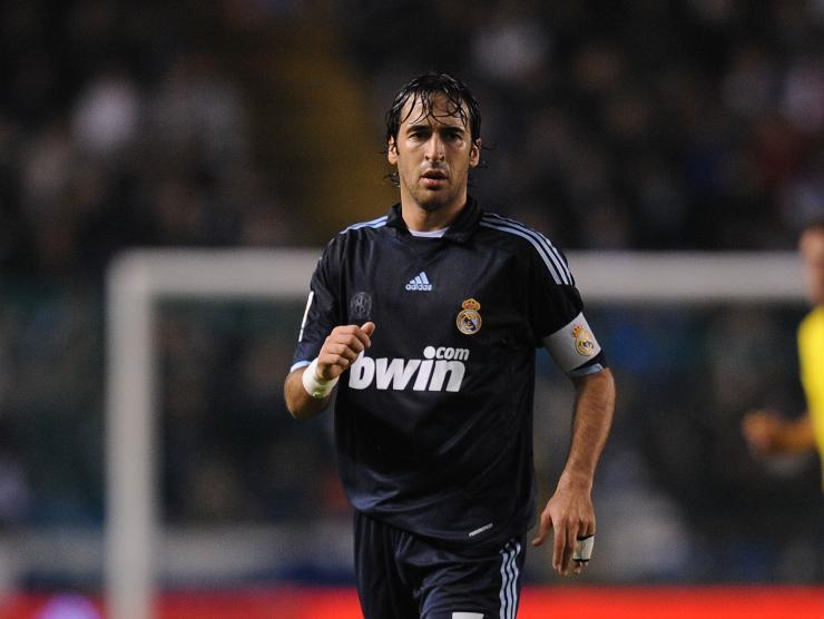 Raul Real Madrid