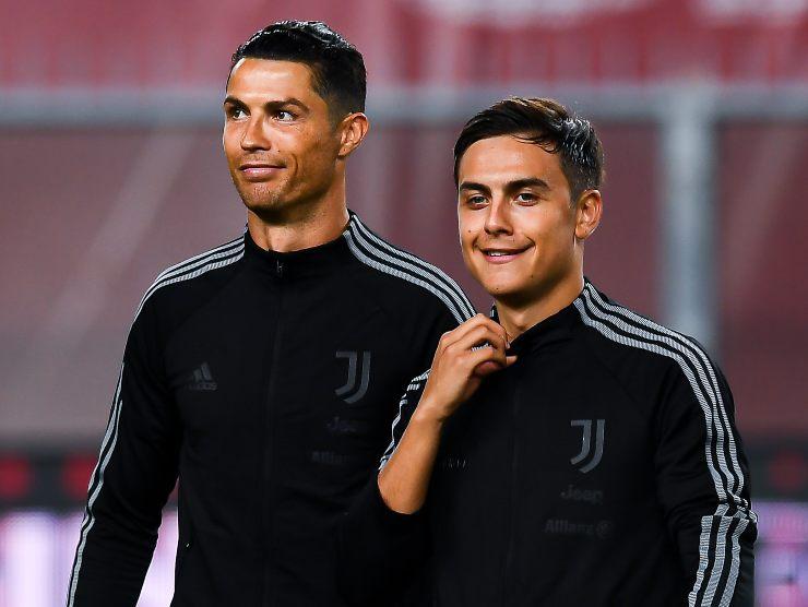 Ronaldo e Dybala - Getty Images