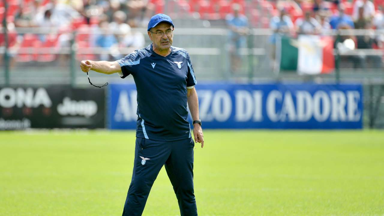 Sarri in campo - Getty Images