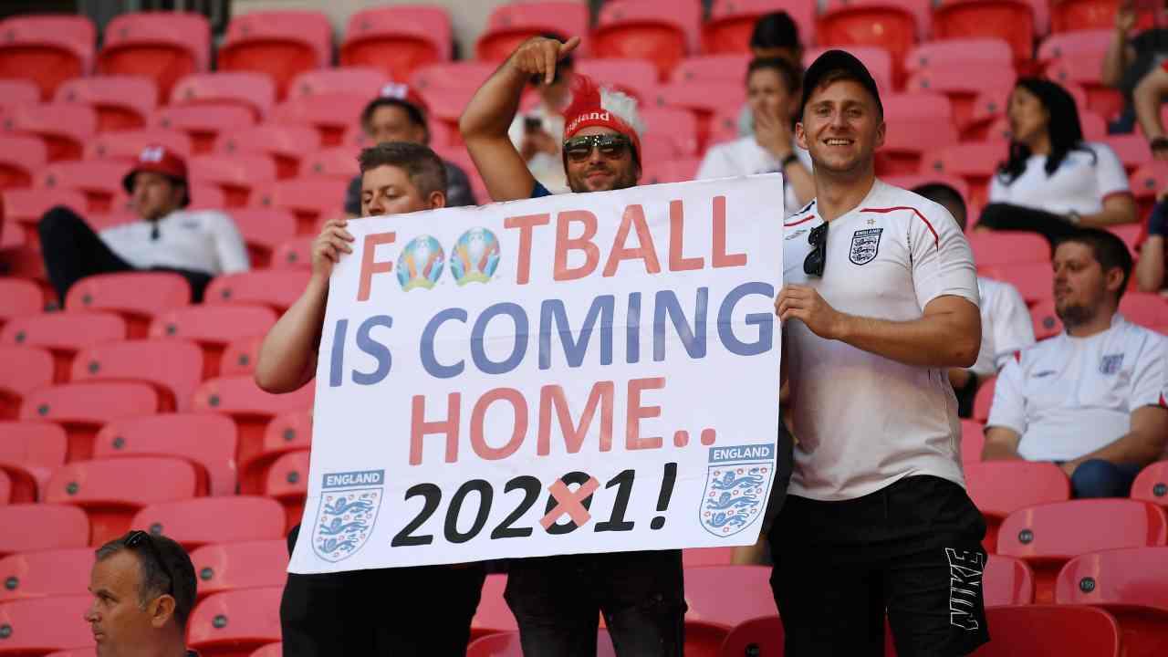 Tifosi Inghilterra It's Coming Home