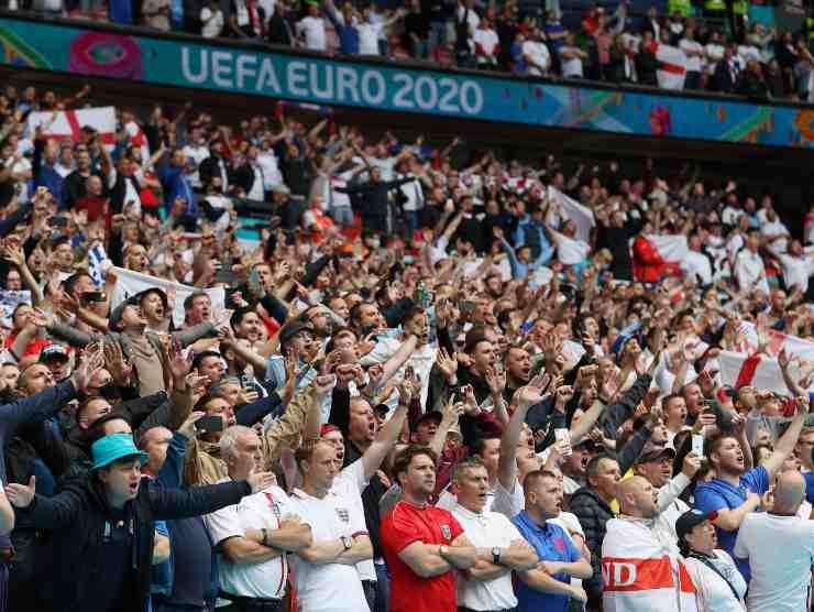 Tifosi Wembley Euro 2020