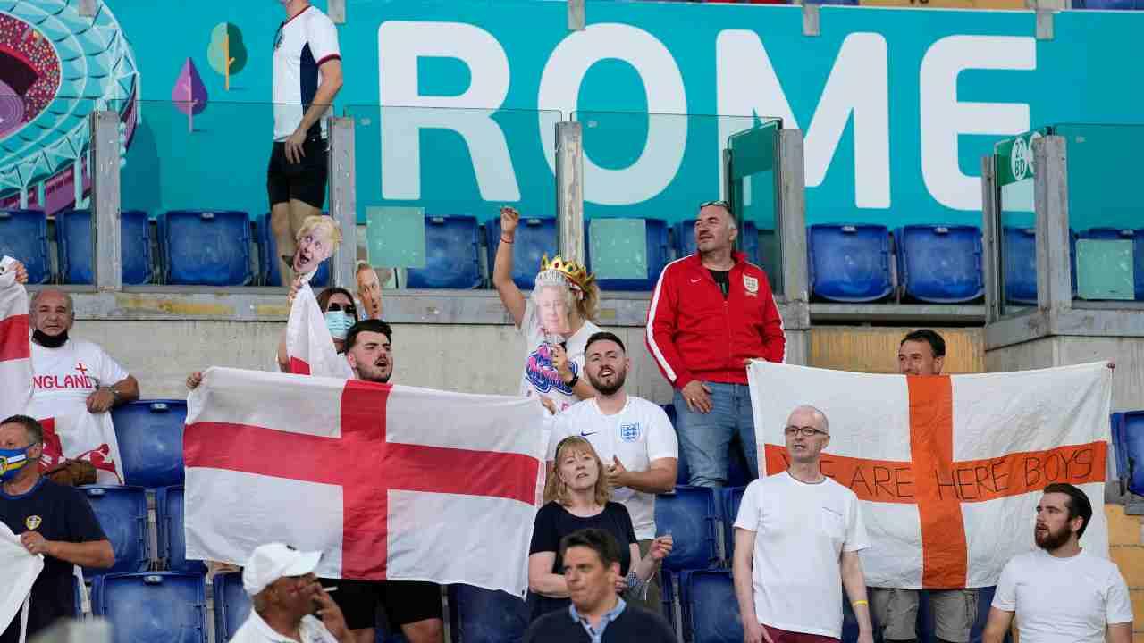 Tifosi inglesi in Italia