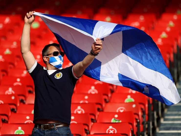 Tifoso Scozia