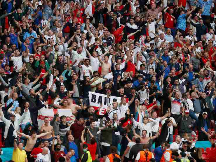 Wembley tifosi Euro 2020