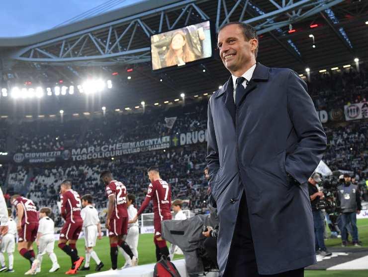 Max Allegri allo stadium - Getty Images