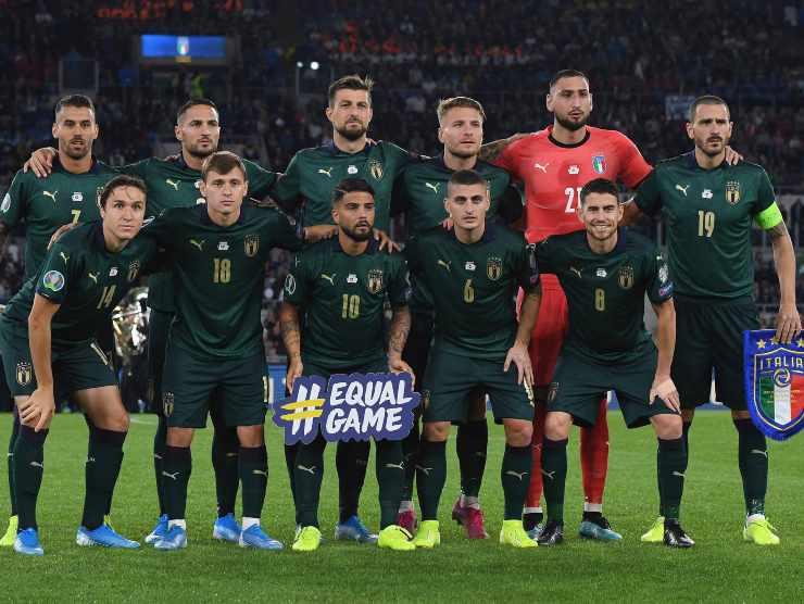 Italia in maglia verde - Getty Imagess